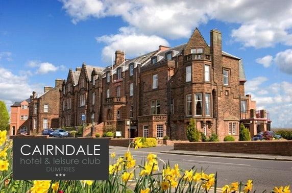Cairndale Hotel, Dumfries stay - £69