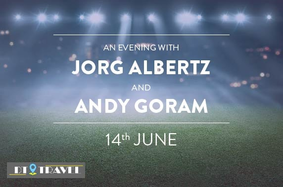 An Evening with Jorg Albertz and Andy Goram