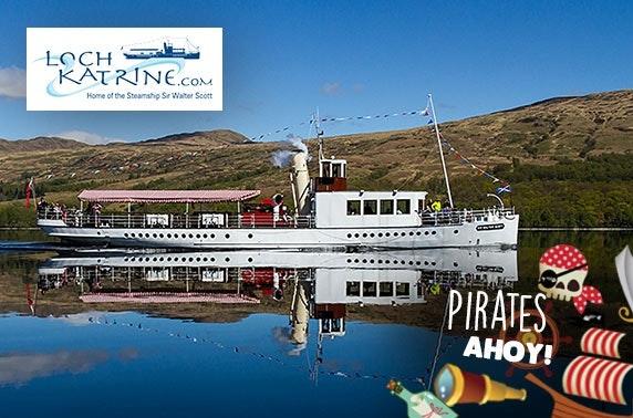 Loch Katrine Pirates Ahoy cruise