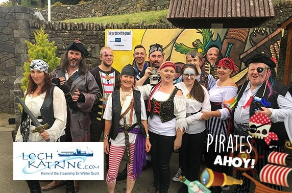Loch Katrine Pirates Ahoy cruise