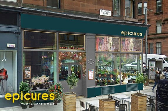 Brunch or lunch at newly refurbished epicures, Hyndland