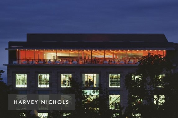 3 course meal, drinks & live swing band at Harvey Nichols
