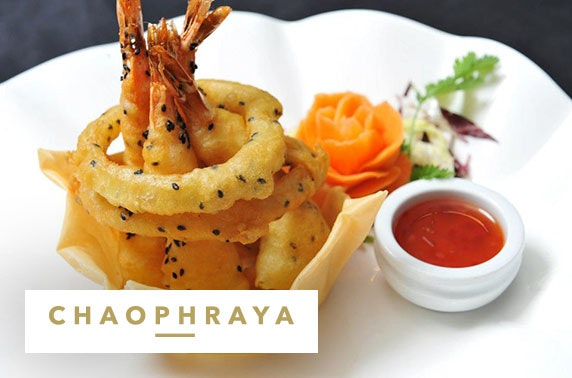 Chaophraya private Prosecco dining