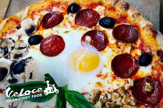Veloce Street Food pizza & pasta