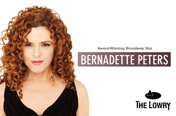 Broadway star Bernadette Peters live at The Lowry