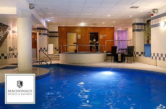 4* Macdonald Kilhey Court spa day