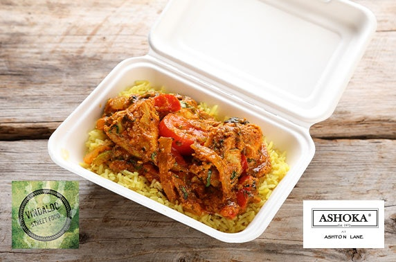 Indian street food on Ashton Lane - £2pp!