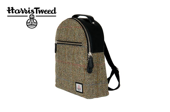 Harris Tweed backpack