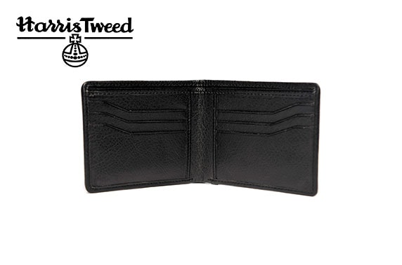 Harris Tweed bifold wallet