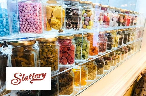 Design your own chocolate bar at Slattery