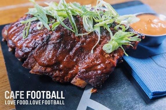 Cafe Football dining, Old Trafford