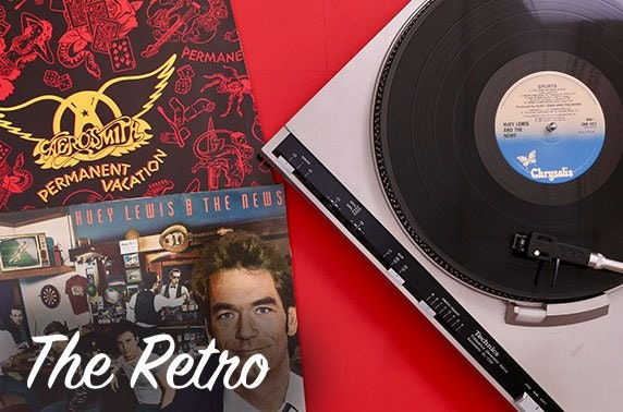 The Retro vinyl or comics subscription box