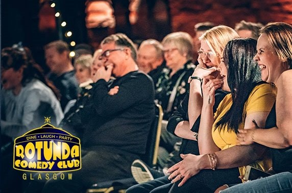 Rotunda Comedy Club tickets – from £3.50pp!