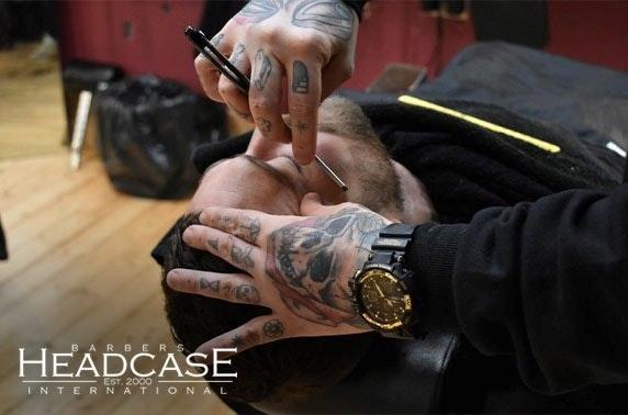Brand new Headcase Barbers, Rose Street