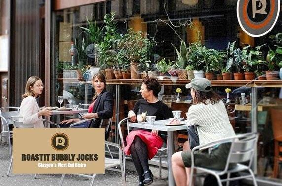 Roastit Bubbly Jocks dining & drinks, West End
