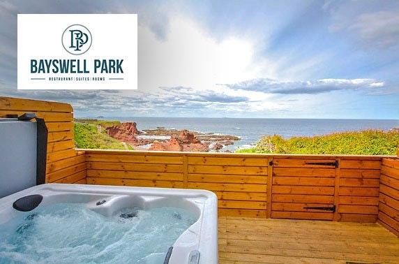 Dunbar hot tub stay