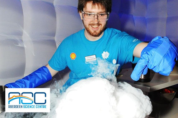Aberdeen Science Centre tickets - from £3