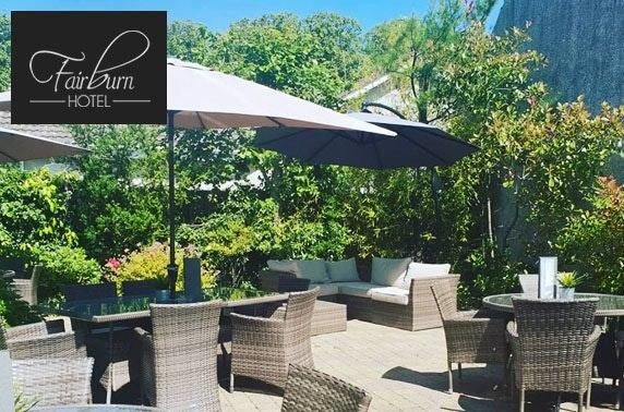 The Fairburn Hotel dining & wine - valid 7 days