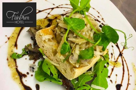The Fairburn Hotel dining & wine - valid 7 days