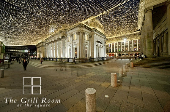 Royal Exchange Square private Prosecco dining
