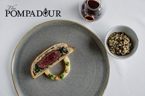 3 AA Rosette-awarded The Pompadour dining & wine