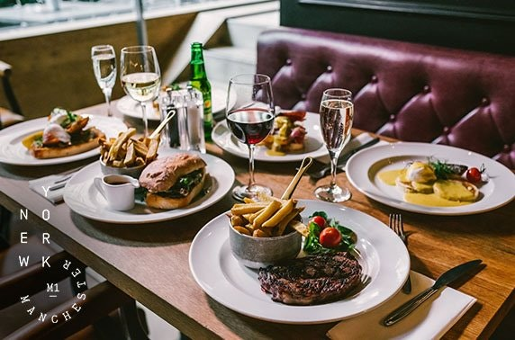 Grill on New York Street bottomless lunch