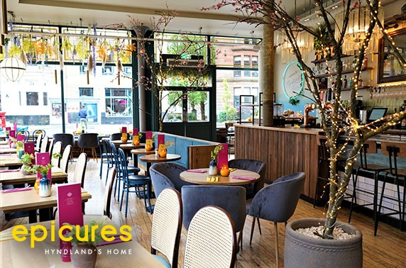 Dining at newly refurbished epicures, Hyndland