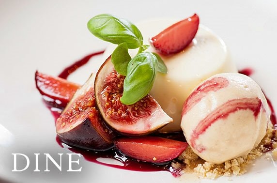 3 course sparkling Sunday dining at Dine, City Centre