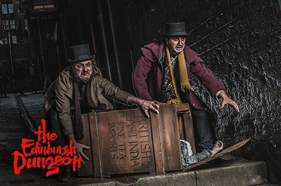 Edinburgh Dungeon entry & guidebook