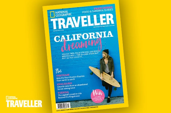National Geographic Traveller subscription – from £1 per issue!
