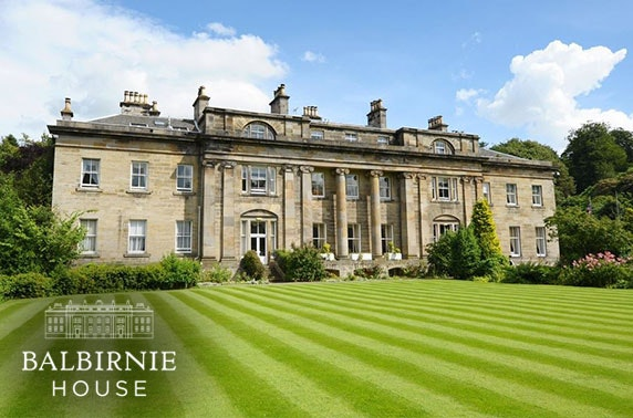 4* Balbirnie House Hotel afternoon tea