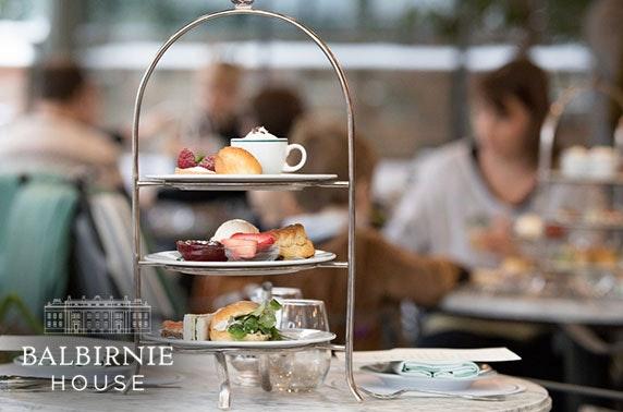 4* Balbirnie House Hotel afternoon tea