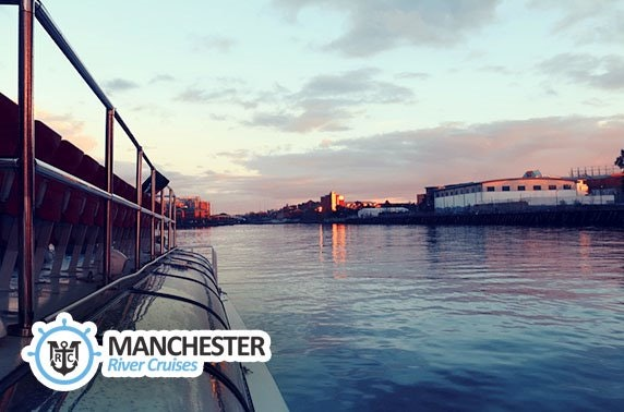 Manchester evening river cruise