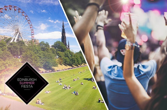 Edinburgh Summer Fiesta, Princes Street Gardens