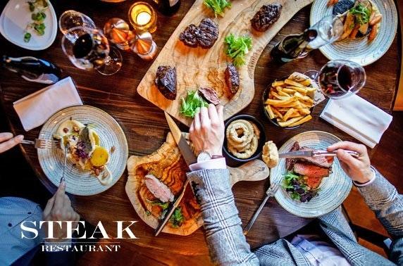 Award-winning Steak Restaurant dining & wine