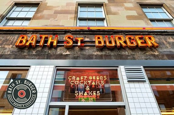 Burgers & drinks at Bath St. Burger
