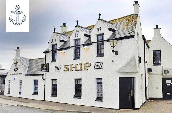 Award-winning The Ship Inn dining
