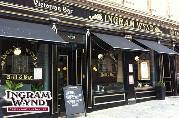 Ingram Wynd dining & gin cocktails, Merchant City