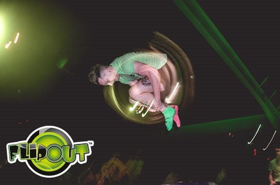 2 hour session at Flip Out Manchester - £3.50ph