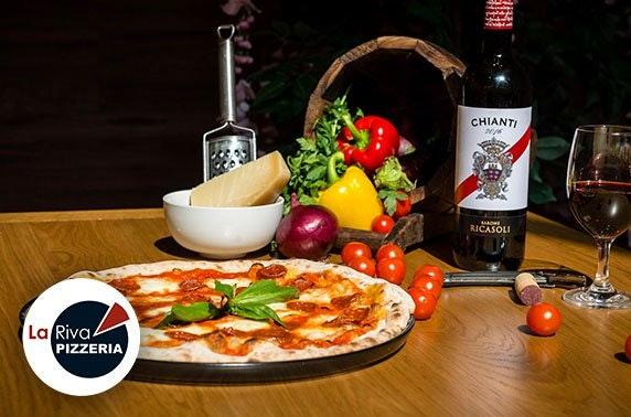 Newly-opened La Riva Pizzeria dining