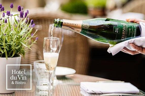 4* Hotel du Vin Champagne lunch