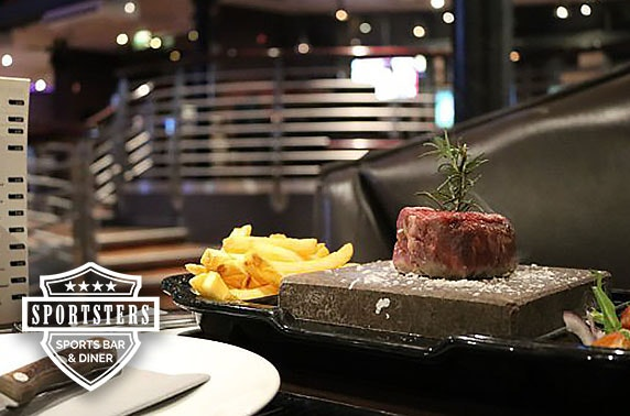 Award-winning Sportsters dining, Falkirk