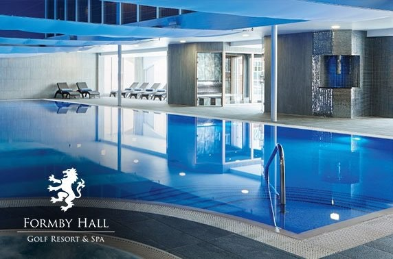 Formby Hall spa day & lunch