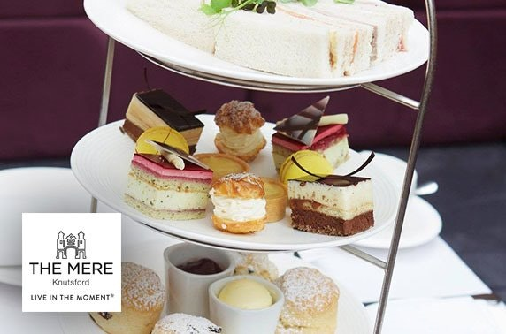 2 AA Rosette-awarded afternoon tea, The Mere