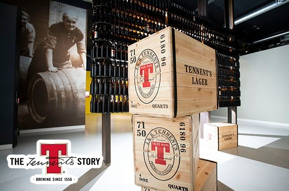 Tennent's tour and beer tasting masterclass
