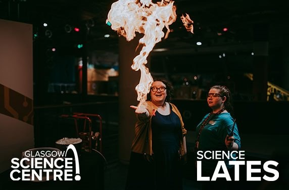 Science Lates at 5* Glasgow Science Centre