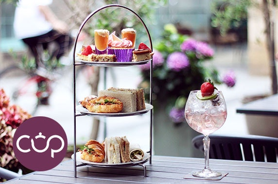 Award-winning Cup afternoon tea