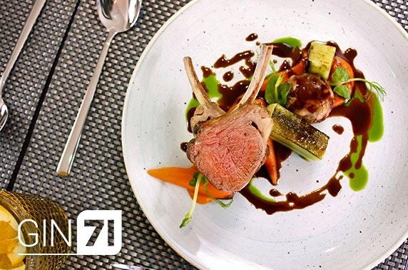 Gin71 Merchant City, 7 course dining