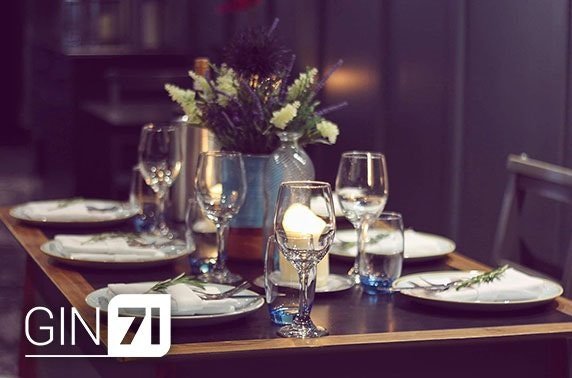 Gin71 Renfield St, 7 course dining