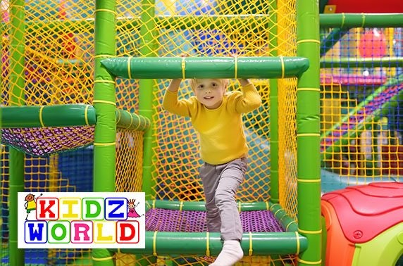 Soccer World soft play passes